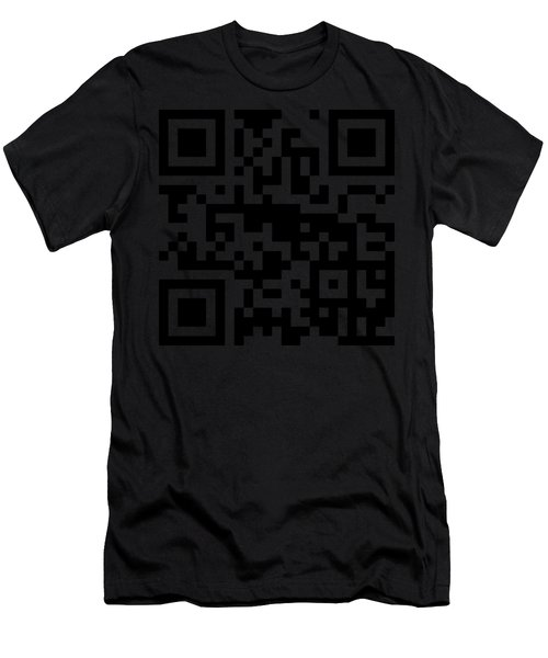 Qr Codes - Code Yellow Men's T-Shirt (Athletic Fit)