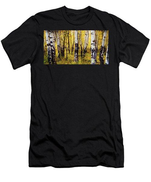Quakies In Autumn Men's T-Shirt (Athletic Fit)