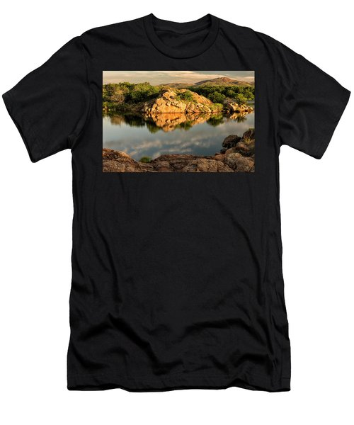 Quanah Parker Lake Men's T-Shirt (Athletic Fit)