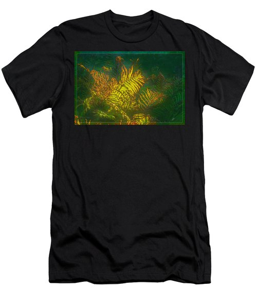 Quantum Fern.... Men's T-Shirt (Athletic Fit)
