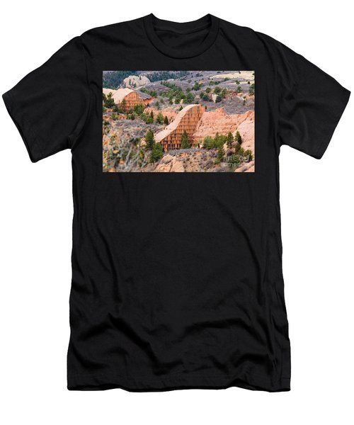 Quarry At Red Rock Canyon Colorado Springs Men's T-Shirt (Athletic Fit)