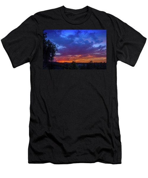 Quartz Canyon Sunset Men's T-Shirt (Athletic Fit)