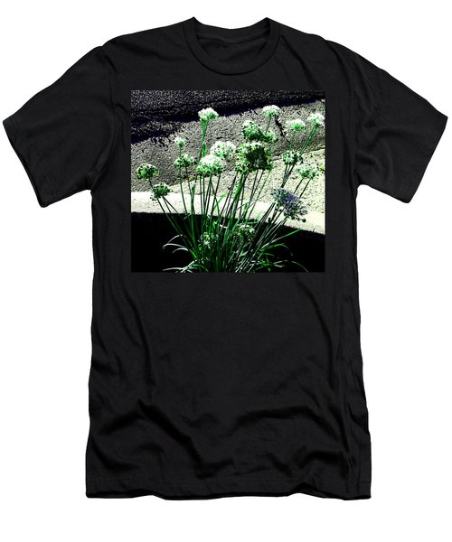 Men's T-Shirt (Slim Fit) featuring the photograph Queen Anne's Lace by Lenore Senior