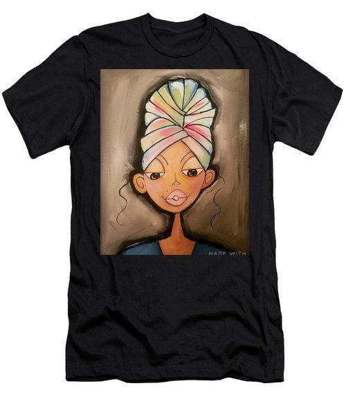 Queen Men's T-Shirt (Athletic Fit)