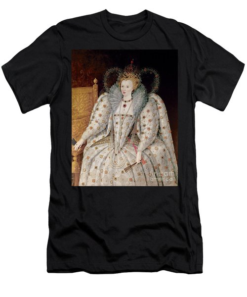 Queen Elizabeth I Of England And Ireland Men's T-Shirt (Athletic Fit)