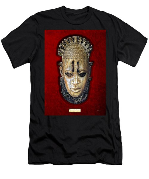 Queen Mother Idia - Ivory Hip Pendant Men's T-Shirt (Athletic Fit)