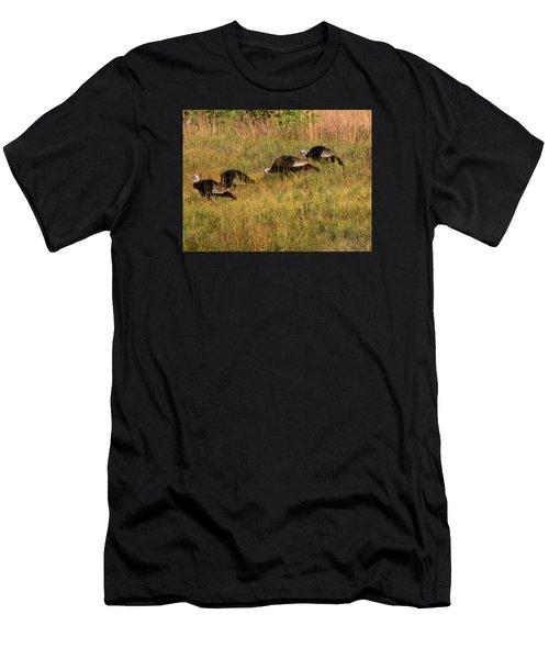 Quick Hide It's Thanksgiving Men's T-Shirt (Athletic Fit)
