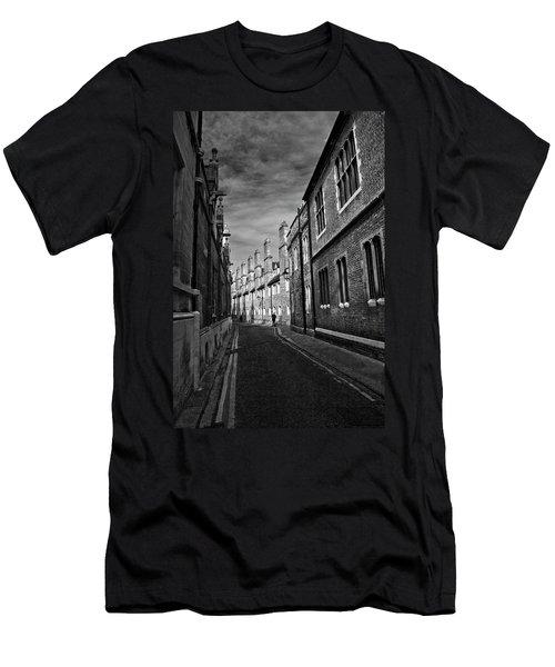Quiet Alley Cambridge Uk Men's T-Shirt (Athletic Fit)