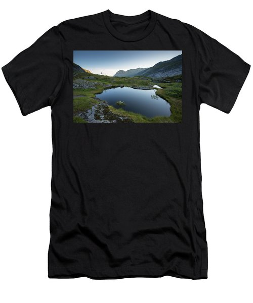Quiet Lofoten Men's T-Shirt (Athletic Fit)