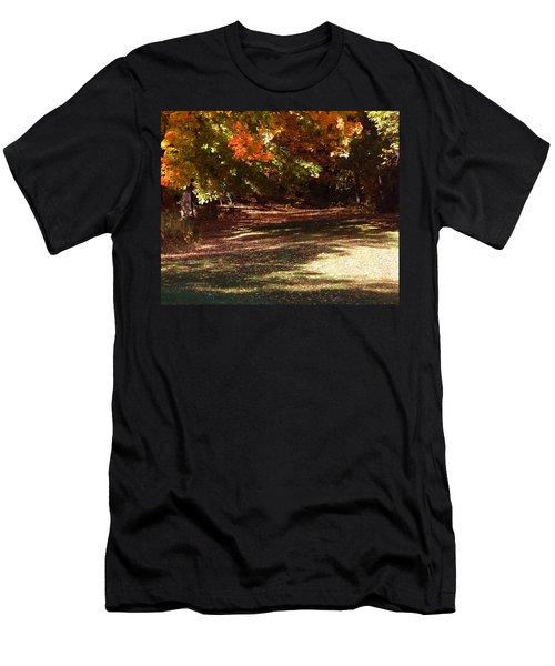 Quiet Picnic Place Men's T-Shirt (Athletic Fit)