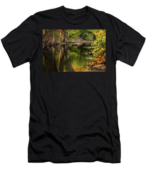 Quiet River Men's T-Shirt (Athletic Fit)