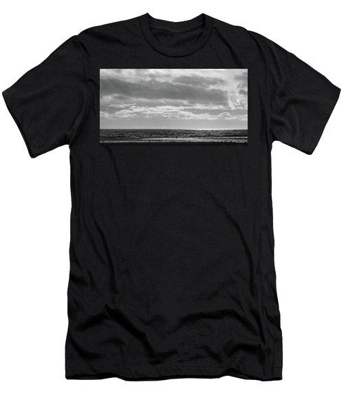 Quiet Shores After The Storm Men's T-Shirt (Athletic Fit)