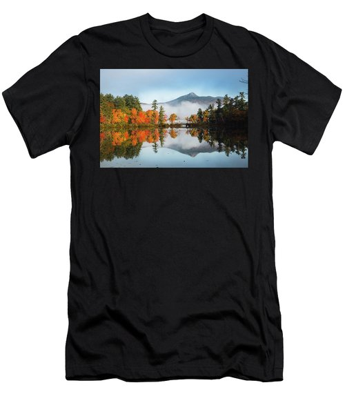 Mount Chocorua Fall Reflection Men's T-Shirt (Athletic Fit)