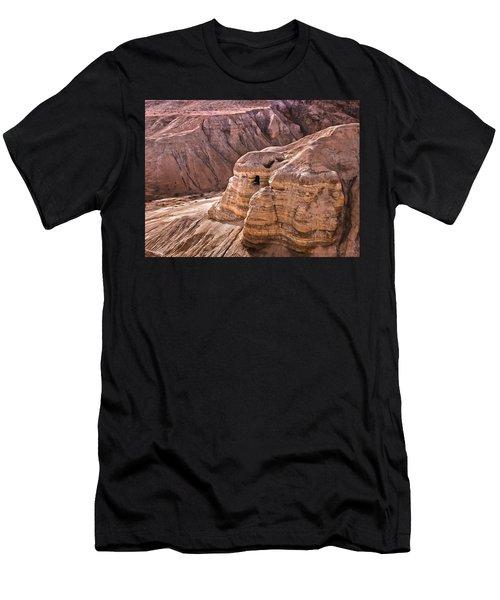 Qumran Cave 4, Israel Men's T-Shirt (Athletic Fit)