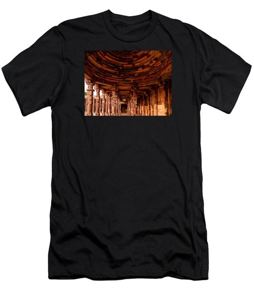 Men's T-Shirt (Athletic Fit) featuring the photograph Qutub Minar by M G Whittingham
