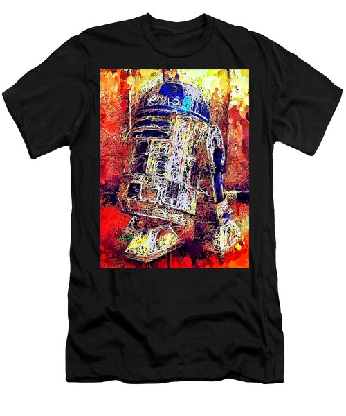R2 - D2 Men's T-Shirt (Athletic Fit)