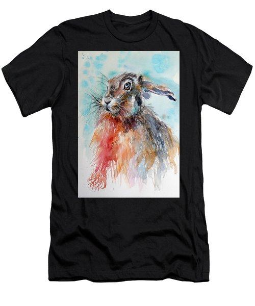 Rabbit Men's T-Shirt (Athletic Fit)