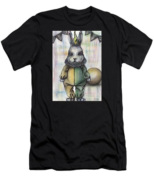 Rabbit Pierrot Men's T-Shirt (Athletic Fit)