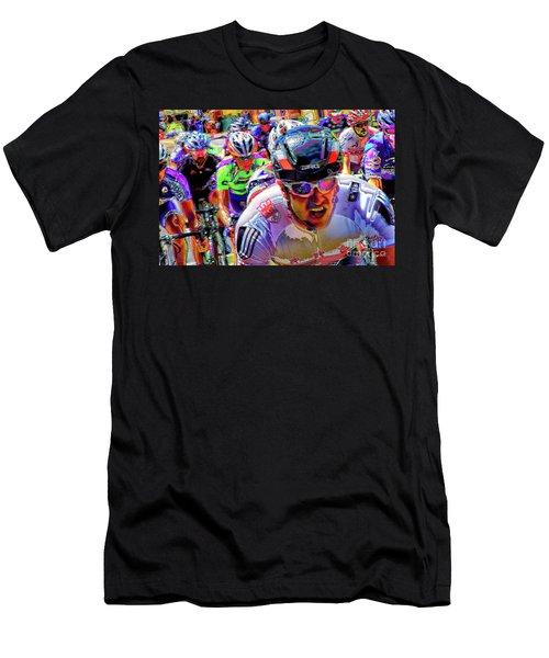 Race Is On Men's T-Shirt (Athletic Fit)