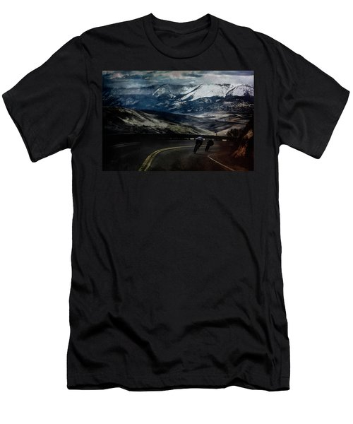 Race To The Finish Men's T-Shirt (Athletic Fit)