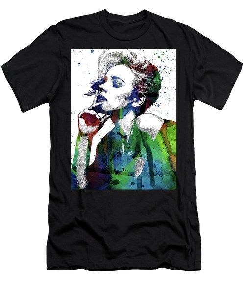 Rachel Mcadams Men's T-Shirt (Slim Fit) by Mihaela Pater