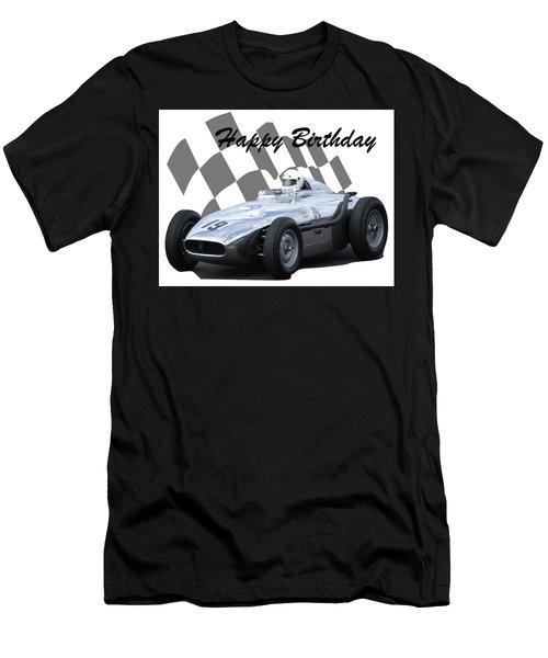 Racing Car Birthday Card 7 Men's T-Shirt (Athletic Fit)