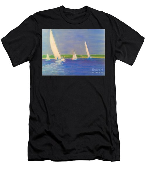 Racing Off Chester Men's T-Shirt (Athletic Fit)