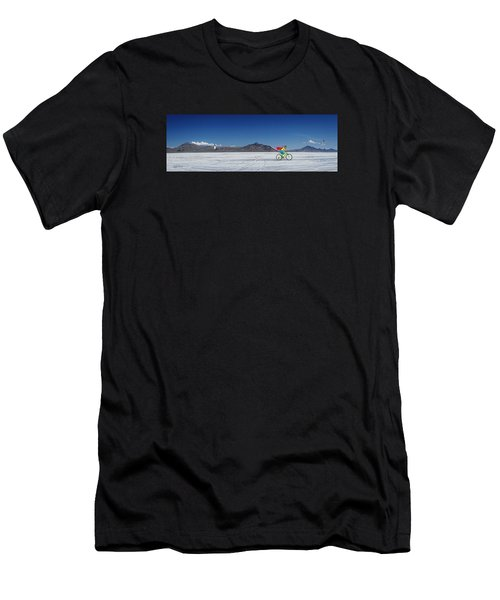 Racing On The Bonneville Salt Flats Men's T-Shirt (Athletic Fit)