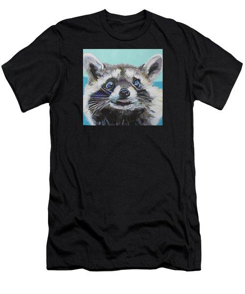 Racoon Men's T-Shirt (Athletic Fit)