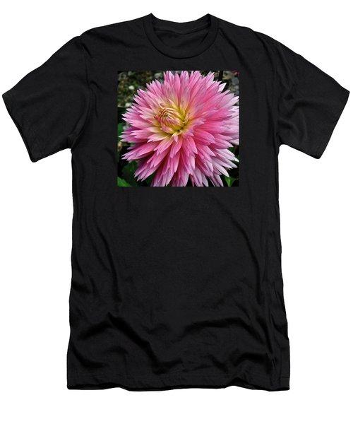 Radiant Dahlia  Men's T-Shirt (Athletic Fit)