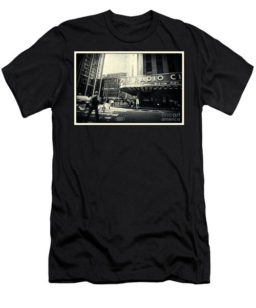 Radio City Music Hall Manhattan New York City Men's T-Shirt (Athletic Fit)