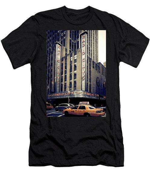 Radio City Men's T-Shirt (Athletic Fit)