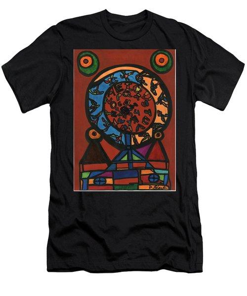 Raetsel Men's T-Shirt (Slim Fit) by Darrell Black