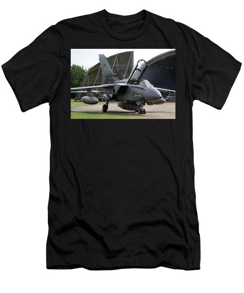 Raf Panavia Tornado Gr4 Men's T-Shirt (Slim Fit) by Tim Beach