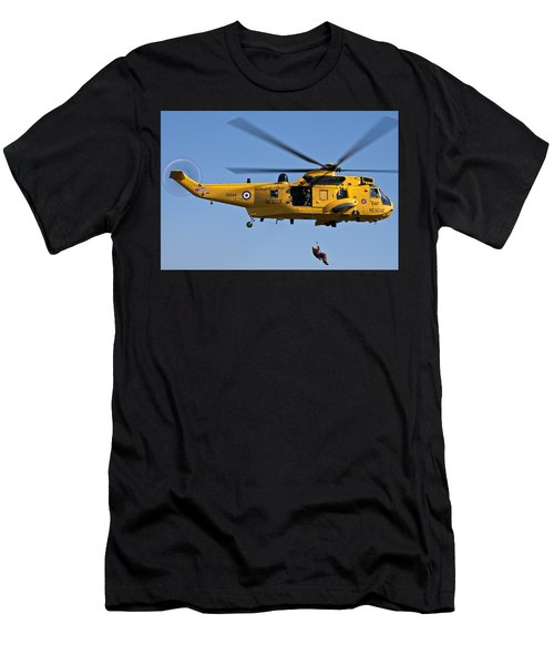 Raf Sea King Search And Rescue Helicopter 2 Men's T-Shirt (Athletic Fit)
