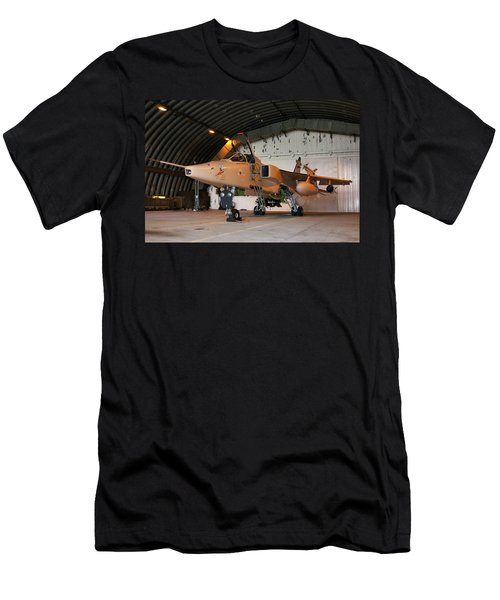 Raf Sepecat Jaguar Gr3a Men's T-Shirt (Slim Fit) by Tim Beach