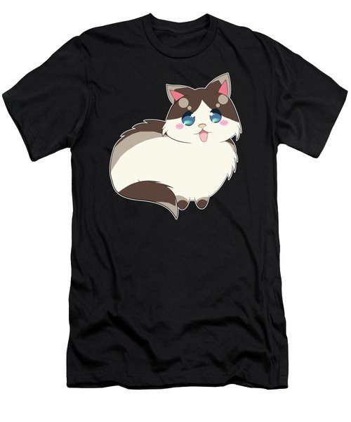 Ragdoll For Life Men's T-Shirt (Athletic Fit)