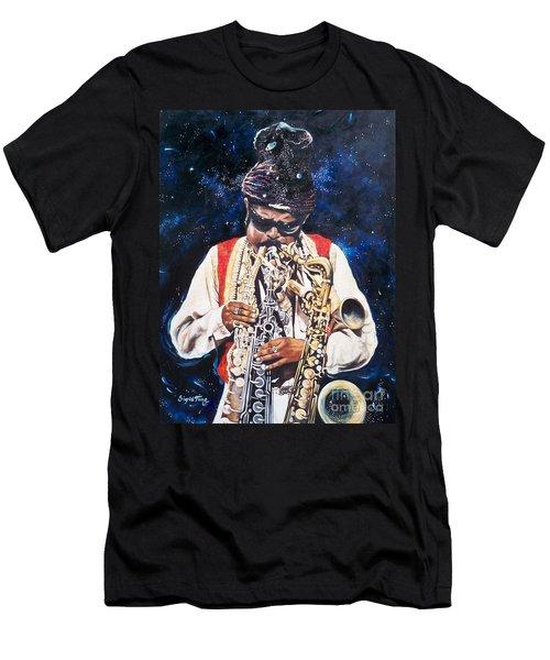 Rahsaan Roland Kirk- Jazz Men's T-Shirt (Slim Fit) by Sigrid Tune
