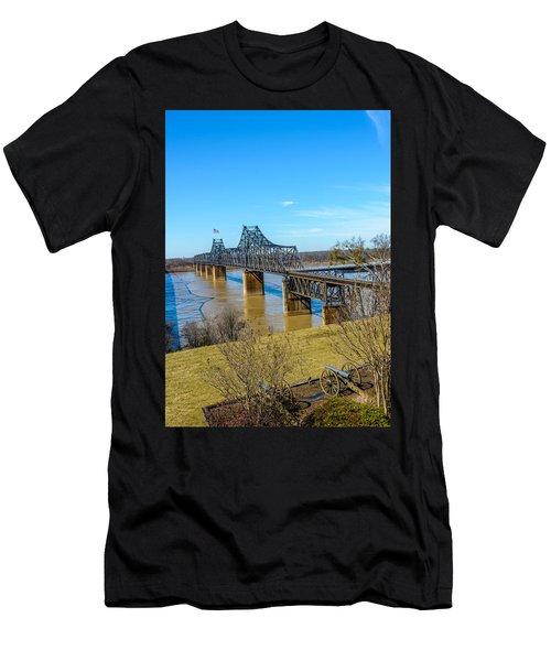 Rail Road Bridge Men's T-Shirt (Athletic Fit)