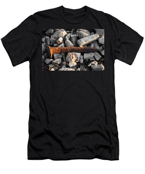 Railroad Spike Men's T-Shirt (Athletic Fit)