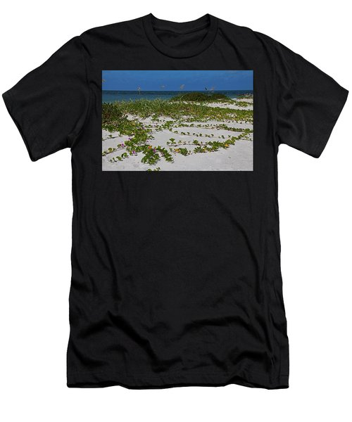 Railroad Vines On Boca IIi Men's T-Shirt (Athletic Fit)