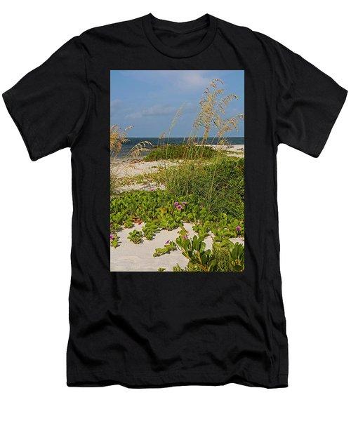 Railroad Vines On Boca Iv Men's T-Shirt (Athletic Fit)