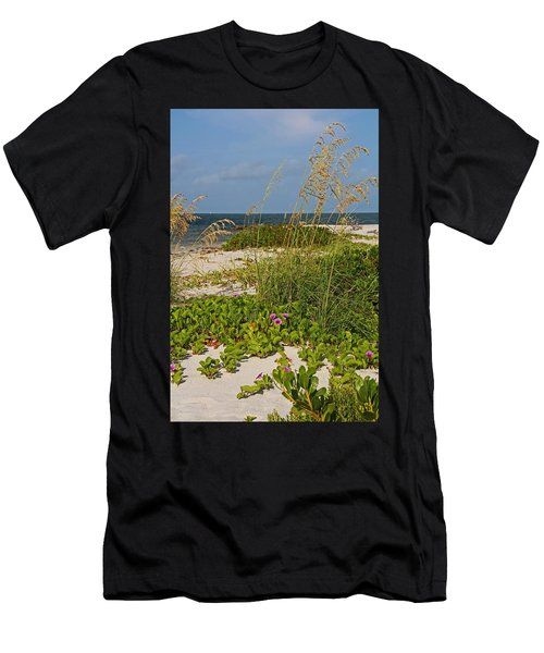 Railroad Vines On Boca Iv Men's T-Shirt (Athletic Fit)