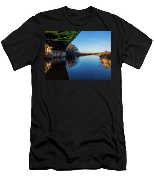 Railway Bridge Men's T-Shirt (Athletic Fit)
