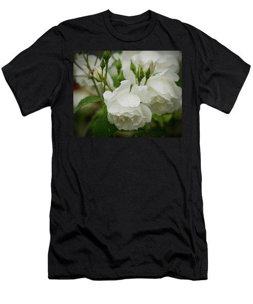 Rain Drops In Our Garden Men's T-Shirt (Athletic Fit)