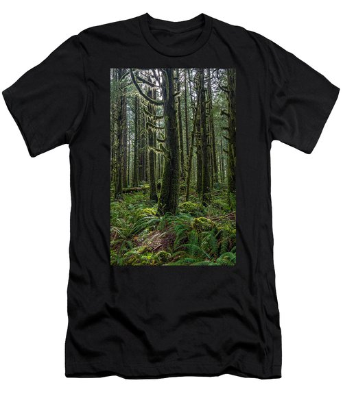 Rain Forest Of Golden Ears Men's T-Shirt (Athletic Fit)