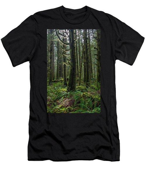 Rain Forest Of Golden Ears Men's T-Shirt (Athletic Fit)