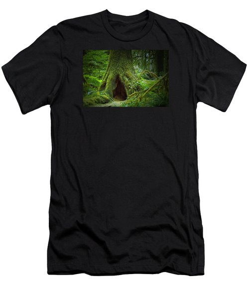 Rain Forest Walk 2 Men's T-Shirt (Athletic Fit)