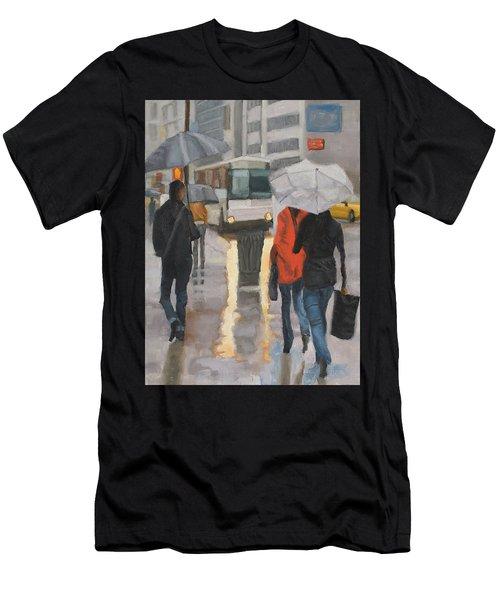 Rain In Midtown Men's T-Shirt (Athletic Fit)