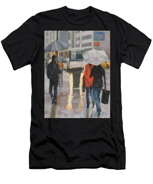 Rain In Midtown Men's T-Shirt (Athletic Fit)